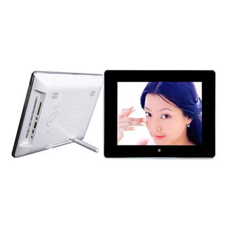 8 inch WI-FI Compatible Digital Photo Frame with 512MB Internal Memory
