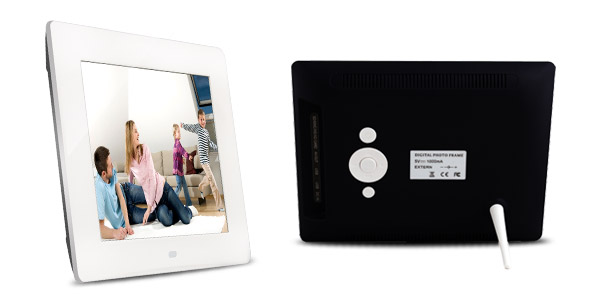8 inch 800*600 High Definition Aluminium Brushed LCD Photo Frame