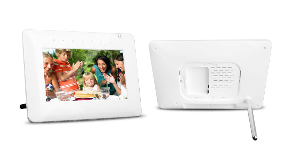 7 inch Battery Operated Digital Frame with Touch Sensor