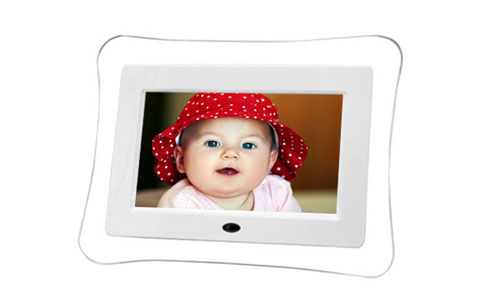 7 inch Digital Photo Frame with Stereo Dock Box